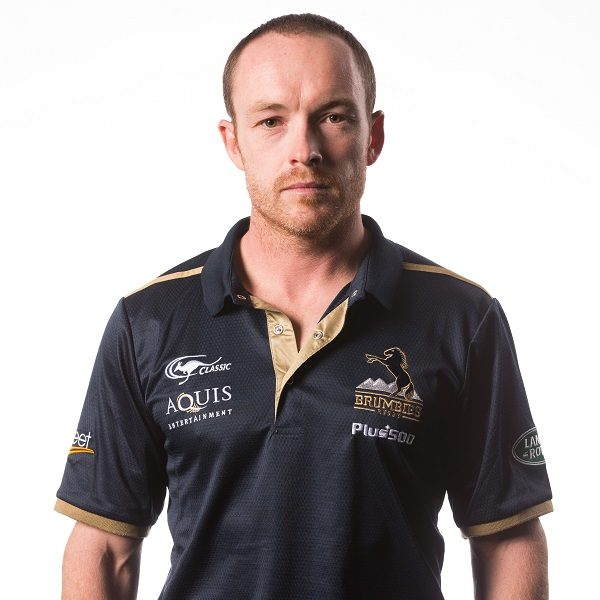 Ben Serpell poses during a Brumbies Super Rugby headshots session at Brumbies HQ on January 25, 2017 in Canberra, Australia.